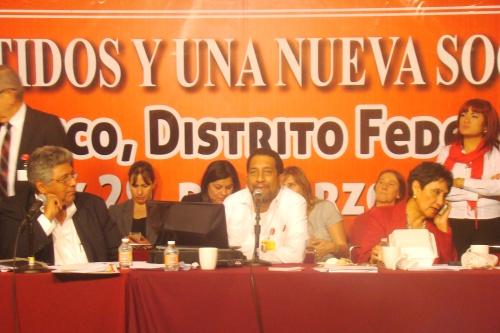 Participación de Tito Olivo en el XVIII Seminario del PT Los Partidos y Una Nueva Sociedad