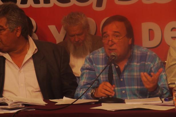 Jorge Drkos de Argentina en el Seminario los Partidos y una Nueva sociedad